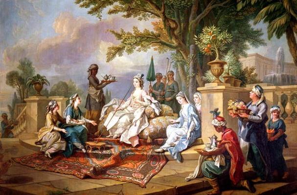 The Sultana Served by her Eunuchs