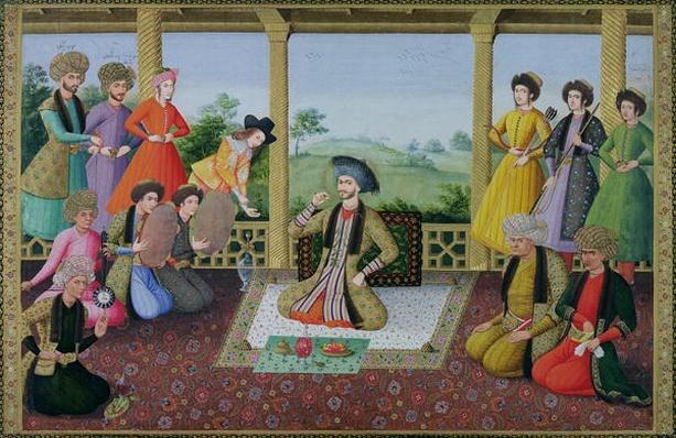 Ms E-14 f.98a Shah Suleyman II
