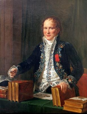 Portrait of Antoine Francois de Fourcroy