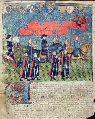 Entrance of Charles VII