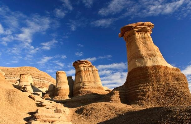 The Hoodoos Near Drumheller | Earth's Surface
