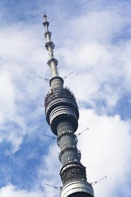 ostankinskaya television tower in Moscow, Russia | Monuments and Buildings