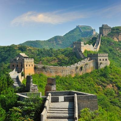 Great Wall of China in summer | Monuments and Buildings