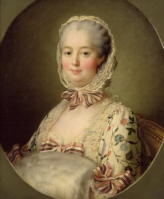 Portrait of the Marquise de Pompadour