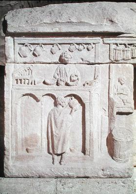 Relief depicting a wine merchant, 2nd-3rd century