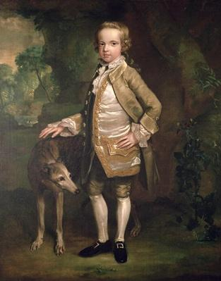 Sir John Nelthorpe, 6th Baronet as a Boy