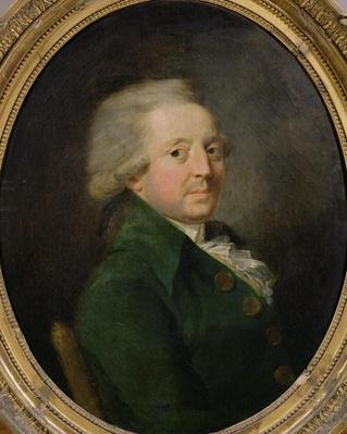 Portrait of Marie-Jean-Antoine-Nicolas de Caritat