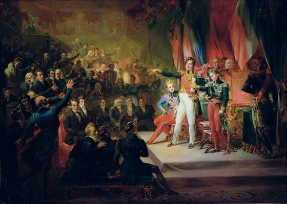 The Swearing-In of Louis-Philippe