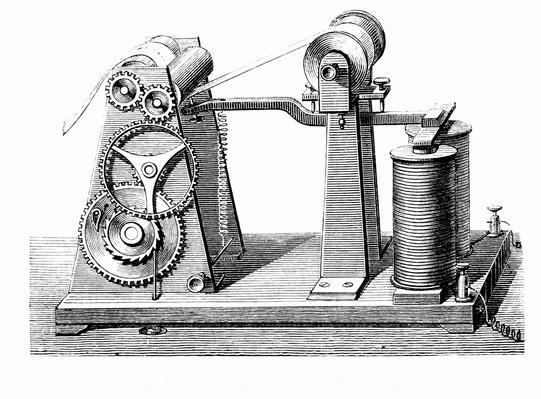 Morse's telegraph   Industrial Revolution