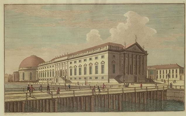 View of the Opera House in Berlin, 1773
