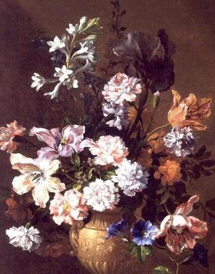 Still Life of carnations and tulips, 17th century