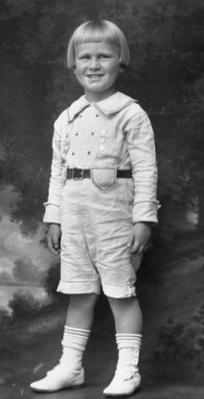Gerald R. Ford, Jr. as a child