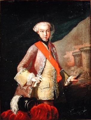 Portrait of Louis Antoine Henri de Bourbon Conde