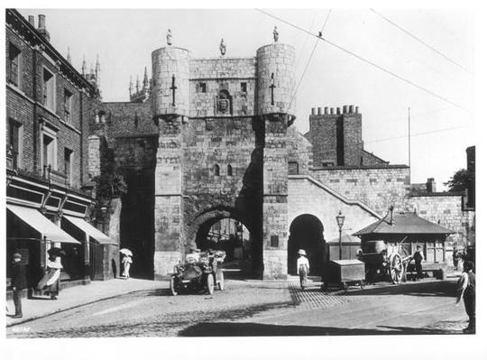 Bootham Bar, York, c.1900