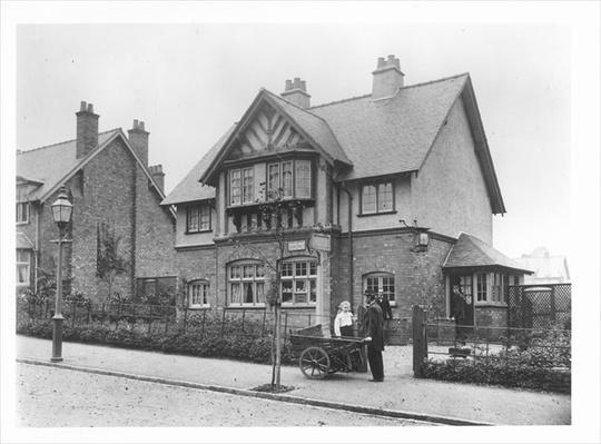 The Post Office, Bournville, c.1900