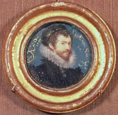 Self portrait at the age of 30, 1577