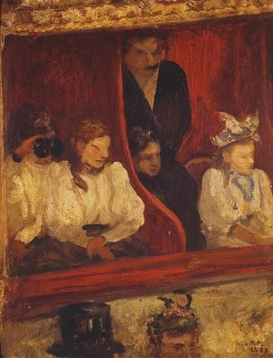 Box at the Opera-Comique, 1887