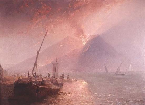 Eruption of Mt.Vesuvius, 1856