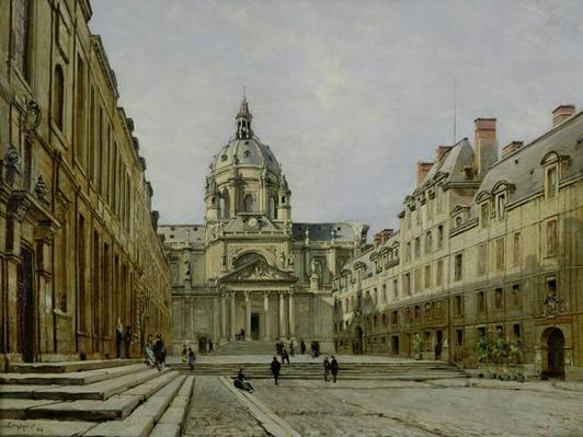 The Courtyard of the Old Sorbonne, 1886