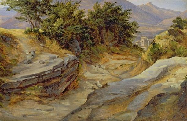 Italian Mountain Landscape, c.1824