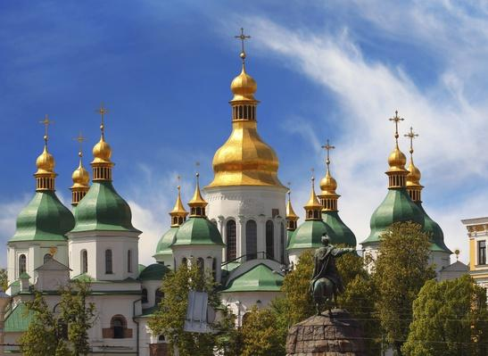 Domes of St Sophia Cathedral | Monuments and Buildings
