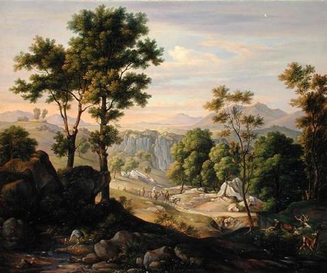 Italian Landscape, 1845