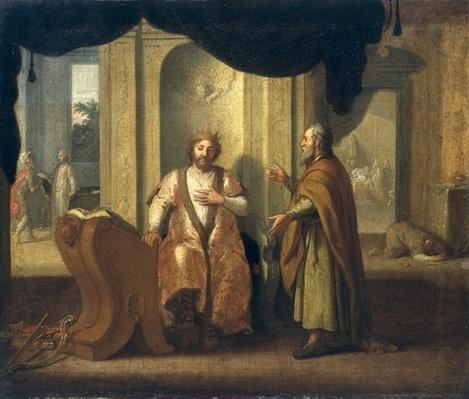 David and Nathan, 1672