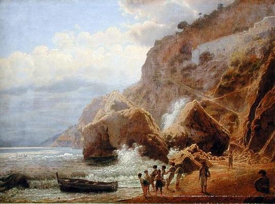 Italian Coastal Landscape, 1844