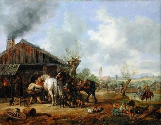 The Village Blacksmith, 1826