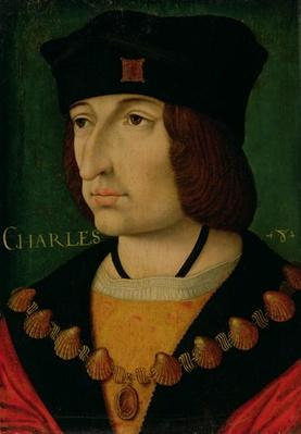 Portrait of Charles VIII