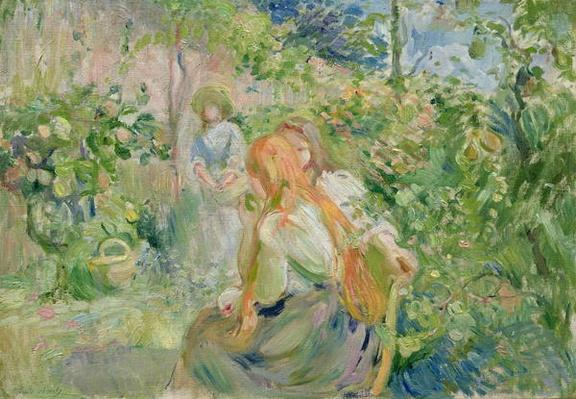 In the Garden at Roche-Plate, 1894