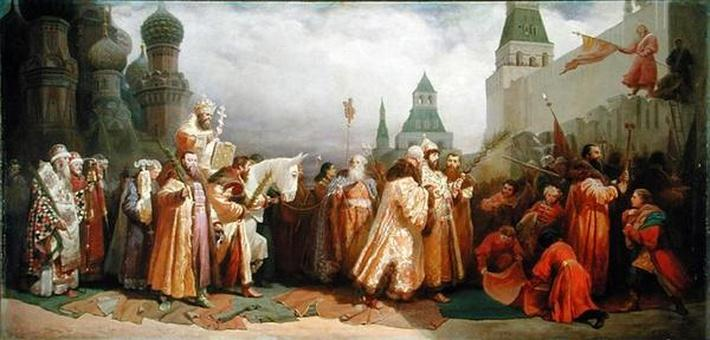 Palm Sunday Procession under the Reign of Tsar Alexis Romanov