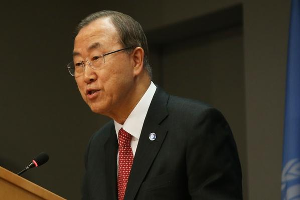 UN Secretary General Speaks To Press On Syria | Conflicts: Syria