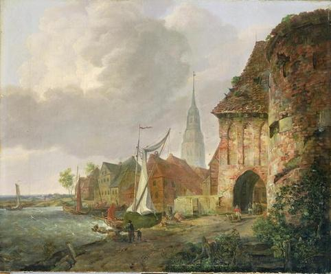 The March Gate in Buxtehude, 1830