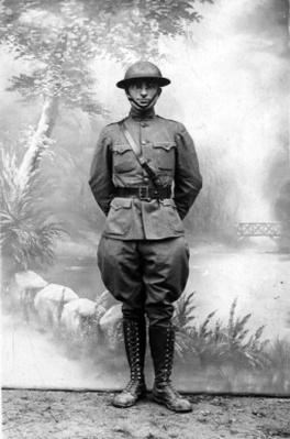 Harry S. Truman in World War I Uniform