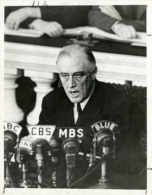Franklin D. Roosevelt speaks to Congress | Ken Burns: The Roosevelts