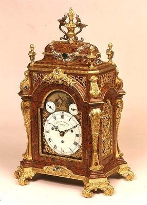 Table clock, by Eardley Norton