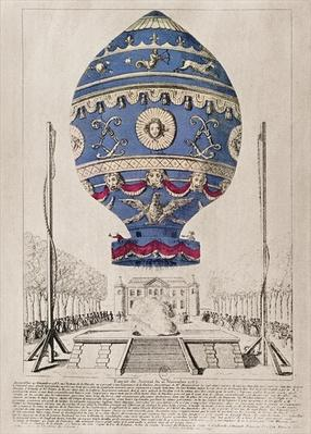 The Montgolfier Brothers' Balloon Experiment at the Chateau de la Muette, 21st November, 1783