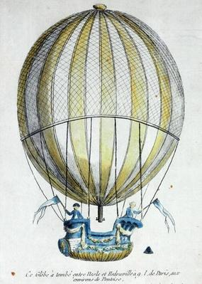 The Balloon of Jacques Charles