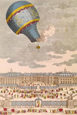 The Ballooning Experiment at the Chateau de Versailles, 19th September, 1783