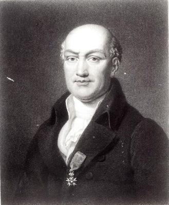 Portrait of Jean Baptiste Joseph Delambre