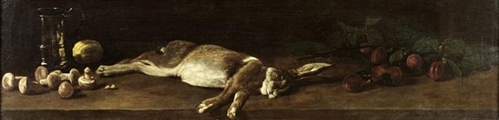 Still Life with a Hare, 1863