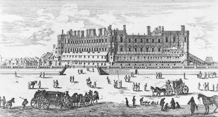View of the Chateau de Saint-Germain-en-Laye, 1658