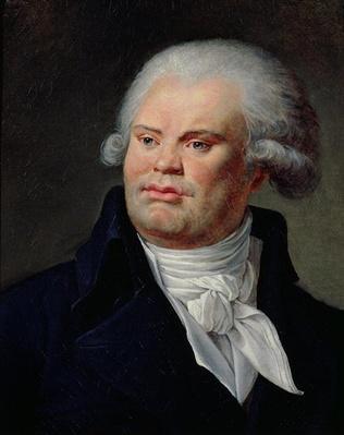 Portrait of Georges Danton