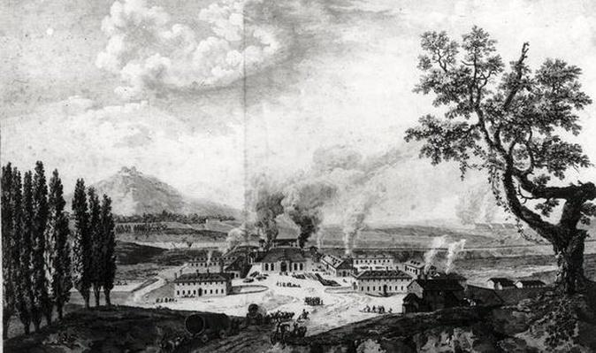 Royal Foundry at Le Creusot in 1787