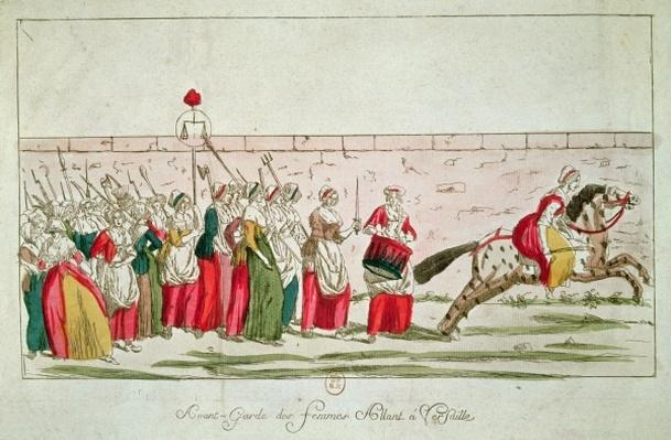 March of the Women on Versailles, 5th October 1789