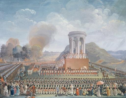 Festival of the Federation, 14th July 1790