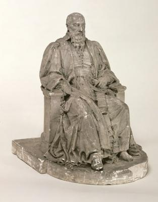 Seated statue of Michel de L'Hospital