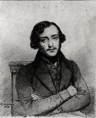 Portrait of Eugene Emmanuel Viollet-le-Duc