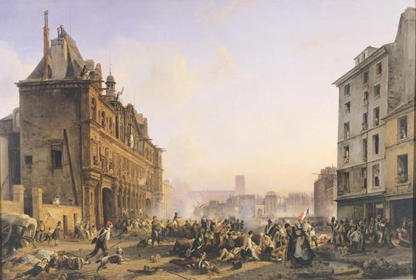 Attack on the Hotel de Ville, 28th July 1830